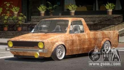 Volkswagen Caddy PJ2 Rusty for GTA 4