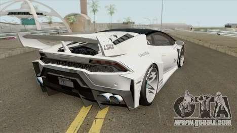 Lamborghini Huracan LP610-4 (LB Silhouette) for GTA San Andreas