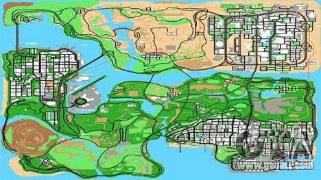 Remastered HQ Radar by Stringer for GTA San Andreas