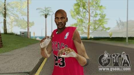 Michael Jordan (Chicago Bulls) for GTA San Andreas