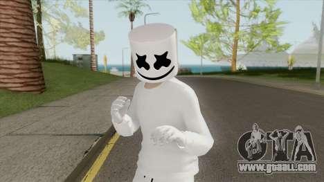 Marshmello (GTA Online) for GTA San Andreas