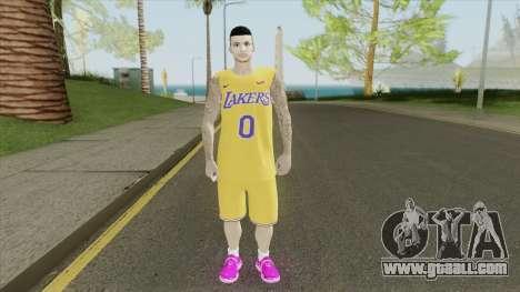 Kyle Kuzma (Lakers) for GTA San Andreas