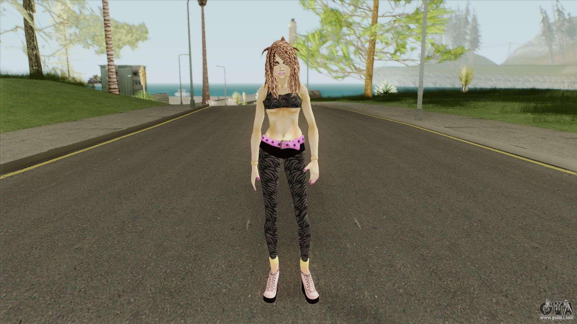 Bad Girl v3 for GTA San Andreas