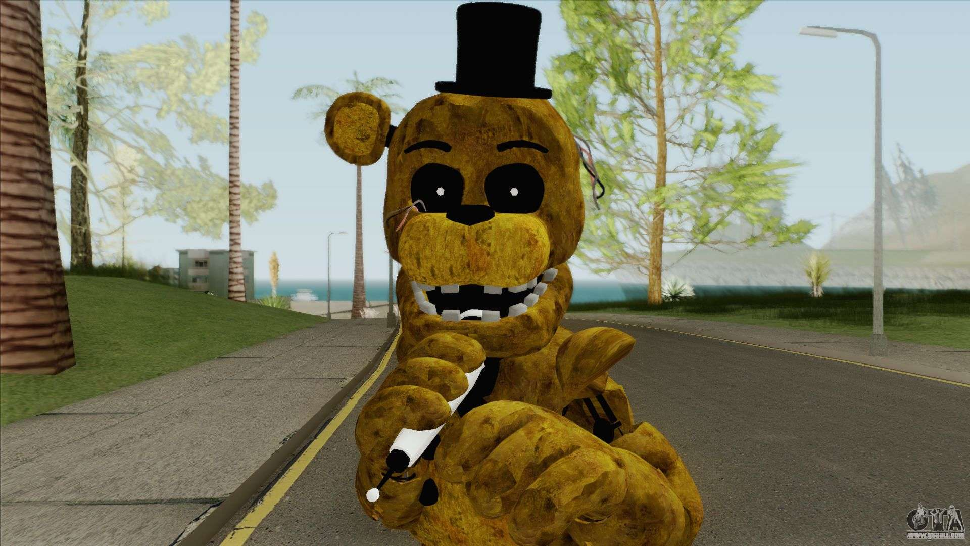 Golden Freddy (FNAF 2) for GTA San Andreas