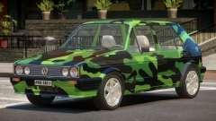 Volkswagen Golf Old PJ3 for GTA 4