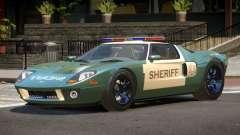 Ford GT1000 Police V1.2 for GTA 4