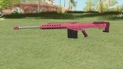 Heavy Sniper GTA V (Pink) V2 for GTA San Andreas