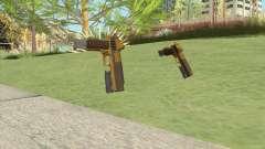 Heavy Pistol GTA V (Gold) Flashlight V2 for GTA San Andreas