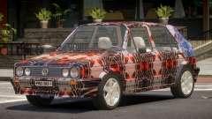 Volkswagen Golf Old PJ2 for GTA 4