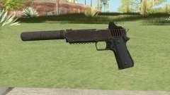 Heavy Pistol GTA V (OG Black) Suppressor V1 for GTA San Andreas