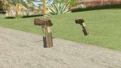 Heavy Pistol GTA V (Army) Flashlight V1 for GTA San Andreas