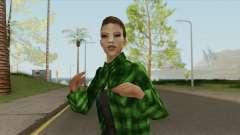 Gang Girl V2 (Grove Street) for GTA San Andreas