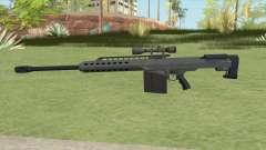 Heavy Sniper GTA V (LSPD) V3 for GTA San Andreas