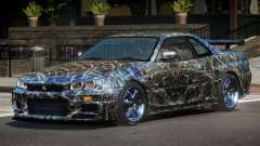 Nissan Skyline R34 LT PJ5 for GTA 4