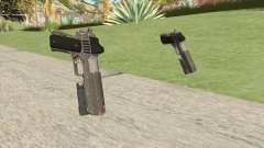 Heavy Pistol GTA V (Platinum) Flashlight V1 for GTA San Andreas