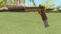 Heavy Pistol GTA V (Gold) Suppressor V2 for GTA San Andreas