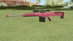 Heavy Sniper GTA V (Pink) V1 for GTA San Andreas