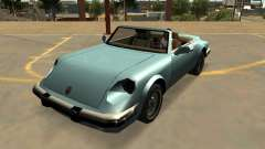 Pfister Comet With Badges & Extras for GTA San Andreas