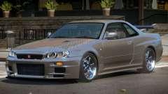 Nissan Skyline R34 LT PJ1 for GTA 4