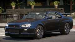 Nissan Skyline R34 GT-R V1.1 for GTA 4