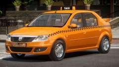 Dacia Logan Taxi V1.0 for GTA 4