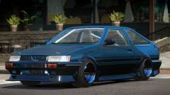 1986 Toyota Corolla Tuned for GTA 4