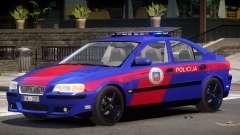 Volvo S60R Police V1.0 for GTA 4