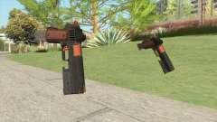 Heavy Pistol GTA V (Orange) Flashlight V2 for GTA San Andreas