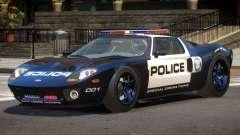 Ford GT1000 Police V1.1 for GTA 4