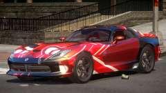 Dodge Viper SRT GTS PJ2 for GTA 4