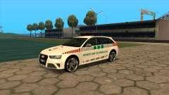 Audi RS4 NAV for GTA San Andreas