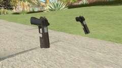Heavy Pistol GTA V (OG Black) Flashlight V1 for GTA San Andreas