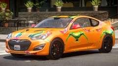 Hyundai Genesis CV PJ1 for GTA 4