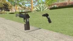 Heavy Pistol GTA V (OG Black) Flashlight V2 for GTA San Andreas