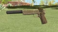 Heavy Pistol GTA V (Army) Suppressor V1 for GTA San Andreas