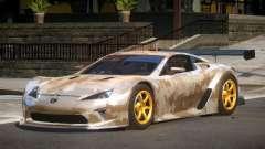 Lexus LFA GT PJ3 for GTA 4