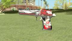 Desert Eagle (Graffiti) for GTA San Andreas