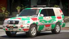 Toyota Land Cruiser Rally Cross PJ5