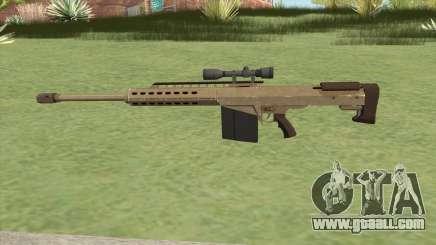 Heavy Sniper GTA V (Army) V3 for GTA San Andreas