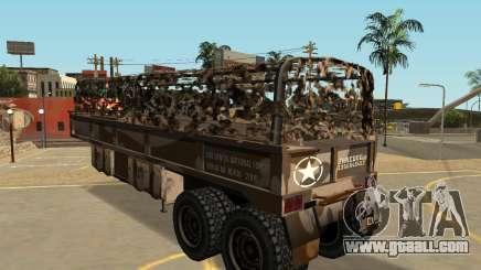 MTL Barracks Semi Trailer for GTA San Andreas