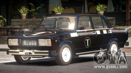 VAZ 2105 Taxi V1.0 for GTA 4