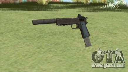 Heavy Pistol GTA V (LSPD) Suppressor V2 for GTA San Andreas