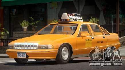 Chevrolet Caprice Taxi V1.0 for GTA 4