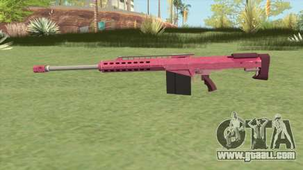 Heavy Sniper GTA V (Pink) V2 for GTA San Andreas