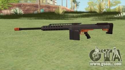Heavy Sniper GTA V (Orange) V2 for GTA San Andreas