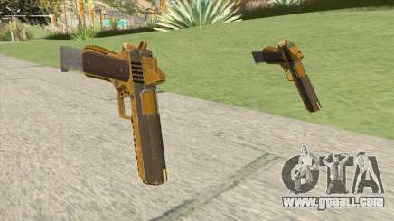 Heavy Pistol GTA V (Gold) Base V2 for GTA San Andreas