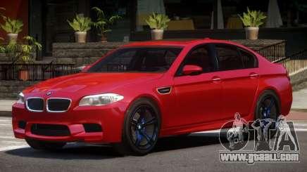 BMW M5 F10 TDI for GTA 4
