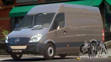 Mercedes-Benz Sprinter V1.0 for GTA 4