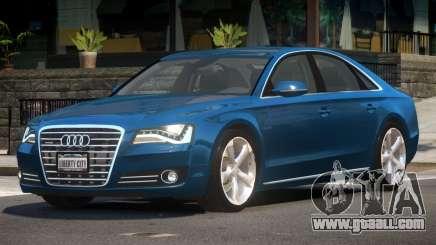 Audi A8 FSI V1.1 for GTA 4