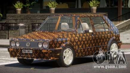 Volkswagen Golf Old PJ1 for GTA 4